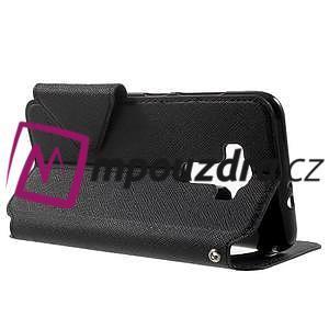 Diary puzdro s okýnkem na mobil Asus Zenfone 3 ZE520KL - čierne - 3