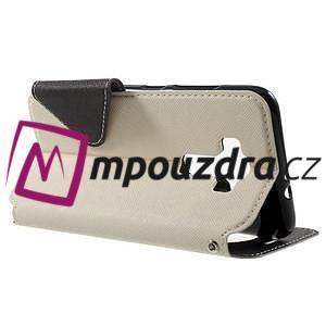 Diary puzdro s okýnkem na mobil Asus Zenfone 3 ZE520KL - biele - 3