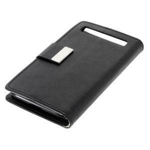 Peňaženkové puzdro pre mobil BlackBerry Classic - čierné - 3