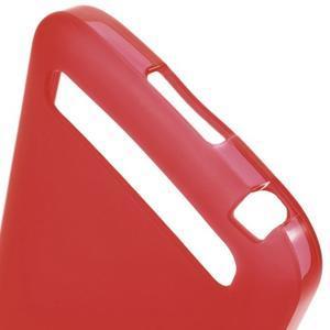 Matný gélový obal pre BlackBerry Classic - červený - 3
