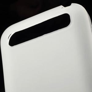 Matný gelový obal na BlackBerry Classic - bílý - 3