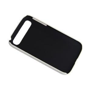 PU kožený kryt se stojánkem pre BlackBerry Classic - biele - 3