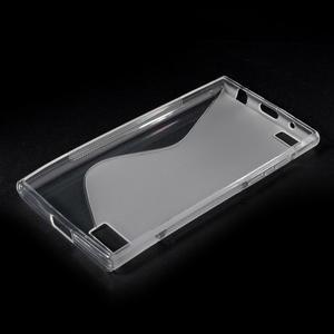 S-line gélový obal pre mobil BlackBerry Leap - transparentný - 3