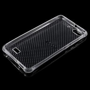 Transparentní gelový kryt na mobil Honor 4C - 3