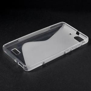 S-line gelový obal na mobil Honor 4C - transparentní - 3
