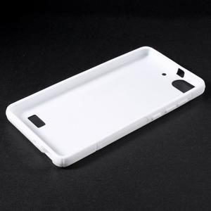 S-line gélový obal pre mobil Honor 4C - biely - 3
