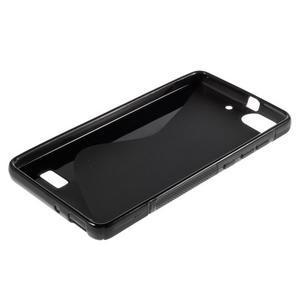S-line gélový obal pre mobil Honor 4C - čierny - 3