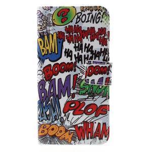 PU kožené puzdro pre mobil Honor 5X - boom - 3