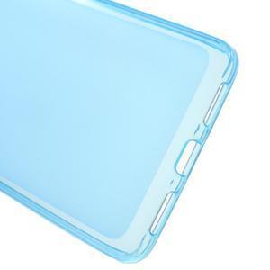 Matný gélový obal pre mobil Honor 5X - modrý - 3