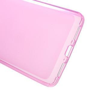 Matný gélový obal pre mobil Honor 5X - ružový - 3