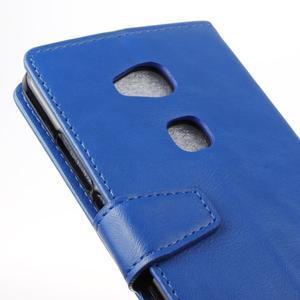 Craz peněženkové pouzdro na Honor 5x - modré - 3