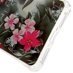 Drop gelový obal na Huawei Honor 5X - květiny - 3