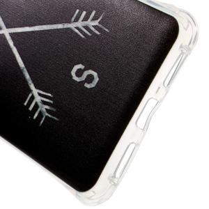 Drop gelový obal na Huawei Honor 5X - světové strany - 3