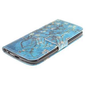 Peňaženkové puzdro pre mobil LG K10 - kvitnúce strom - 3
