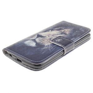Peněženkové pouzdro na mobil LG K10 - lev - 3