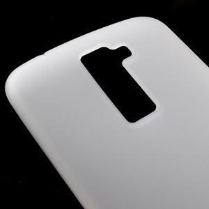 Matný gélový kryt pre LG K10 - transparentný - 3