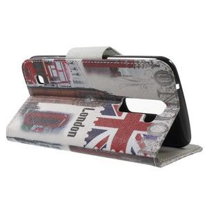 Wall peňaženkové puzdro pre LG K10 - Big Ben - 3