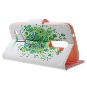 Wall peňaženkové puzdro pre LG K10 - strom - 3