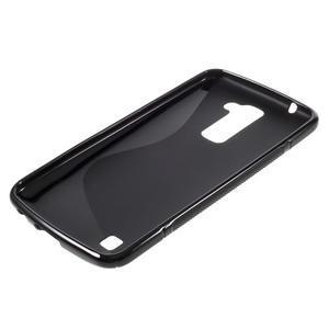 S-line gélový obal pre mobil LG K10 - čierny - 3