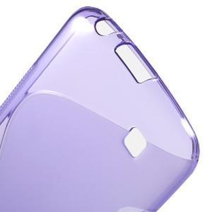 S-line gélový obal pre mobil LG K10 - fialový - 3