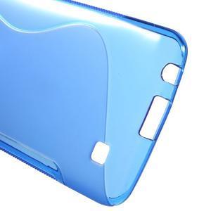 S-line gélový obal pre mobil LG K10 - modrý - 3
