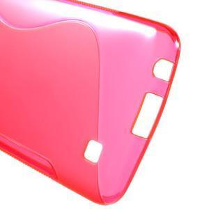 S-line gélový obal pre mobil LG K10 - rose - 3
