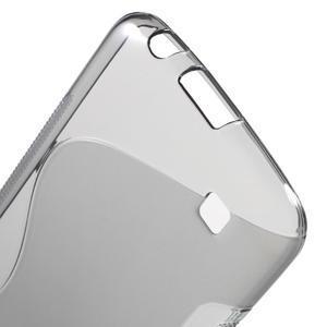 S-line gélový obal pre mobil LG K10 - sivý - 3