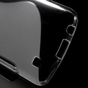 S-line gélový obal pre mobil LG K10 - transparentný - 3