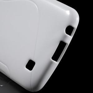S-line gelový obal na mobil LG K10 - bílý - 3