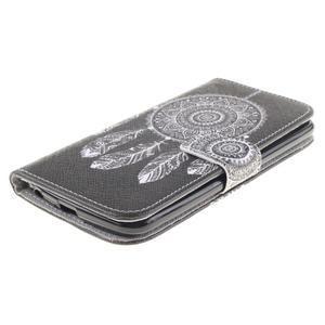 Peňaženkové puzdro pre mobil LG K10 - lapač snov - 3