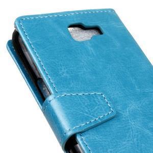 Leat peněženkové pouzdro na LG K4 - modré - 3