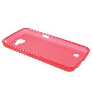 Antfing matný gelový kryt na LG K4 - červený - 3
