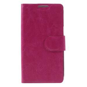 Horse PU kožené puzdro pre mobil LG K4 - rose - 3