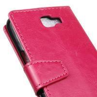 Leat peněženkové pouzdro na LG K4 - rose - 3/6