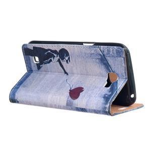 Style peňaženkové puzdro pre LG K4 - dievčatko - 3