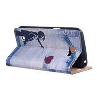 Style peňaženkové puzdro pre LG K4 - dievčatko - 3/5