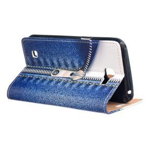 Style peňaženkové puzdro pre LG K4 - jeans - 3