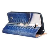 Style peňaženkové puzdro pre LG K4 - jeans - 3/5