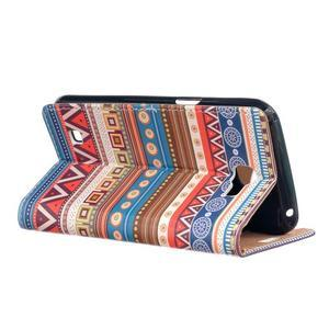 Style peňaženkové puzdro pre LG K4 - tribal - 3