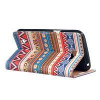 Style peňaženkové puzdro pre LG K4 - tribal - 3/5