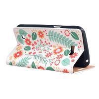 Style peňaženkové puzdro pre LG K4 - kvetinová koláž - 3/5