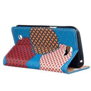 Style peňaženkové puzdro pre LG K4 - kruhy - 3