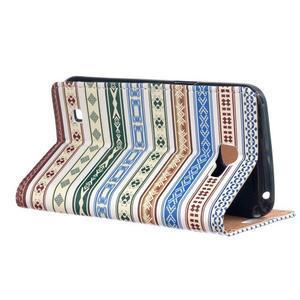 Style peňaženkové puzdro pre LG K4 - ethnic - 3
