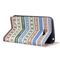 Style peňaženkové puzdro pre LG K4 - ethnic - 3/5