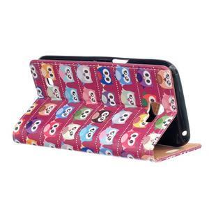 Style peňaženkové puzdro pre LG K4 - banda soviček - 3