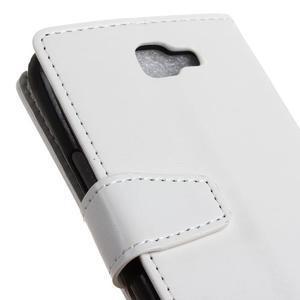 Leat peněženkové pouzdro na LG K4 - bílé - 3