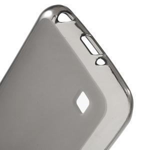 Matný gélový obal pre mobil LG K4 - sivé - 3