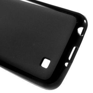 Matný gélový obal pre mobil LG K4 - čierne - 3