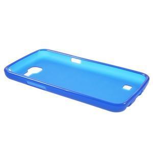 Antfing matný gelový kryt na LG K4 - modrý - 3