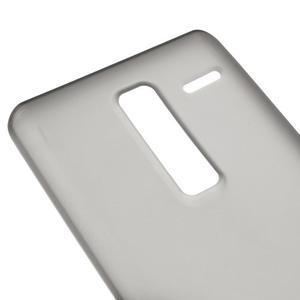 Matný gelový obal na mobil LG Zero - šedý - 3
